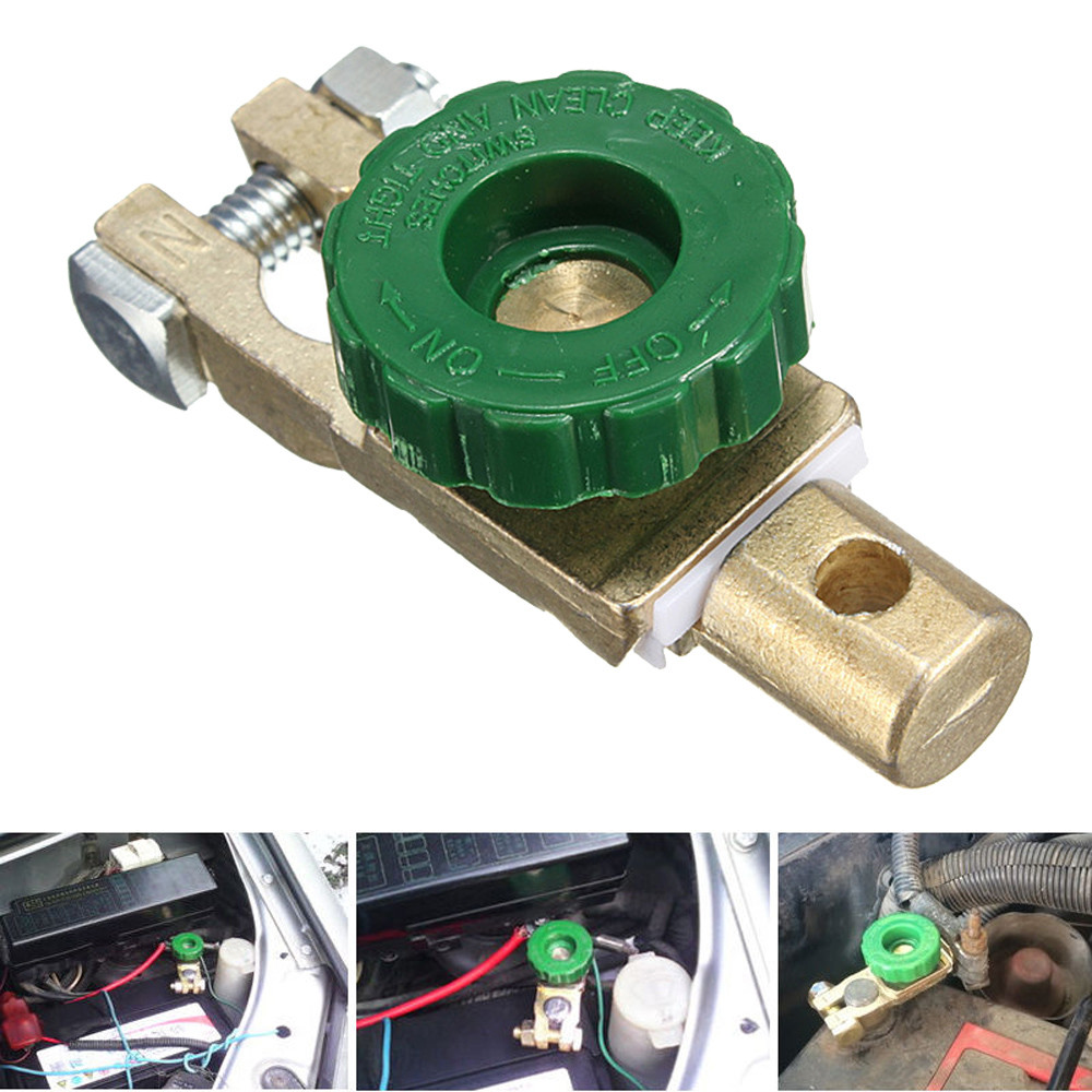 Auto Car Battery Isolator Cut Off Switch Quick Disconnect Terminal Link Vehicle