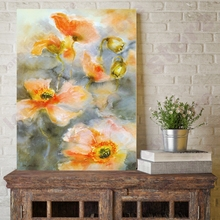 Posters and Prints Watercolor Canvas Painting Flowers Wall Art Lutos Flower Home Decor Wall Pictures for Living Room Wall Decor wall art canvas painting 3d flower picture posters and prints golden flowers poster wall pictures for living room home decor