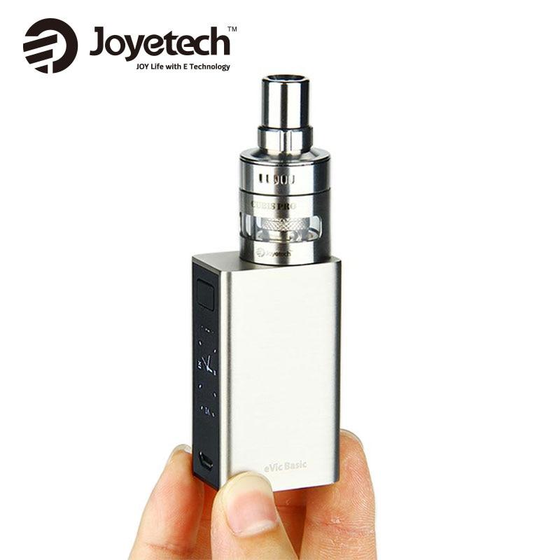 все цены на Original Joyetech eVic Basic Start Kit with eVic Basic Battery 1500mah & 2ml CUBIS Pro Mini Atomizer Electronic Cig Kit 40W онлайн