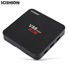 Original SCISHION V88 mini 1GB RAM 8GB ROM TV Box Android 6.0 RK3229 Quad Core Media Player Set Top Box