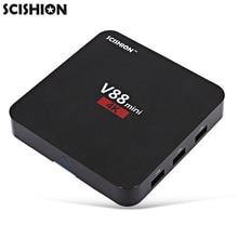 Оригинал SCISHION V88 мини TV Box RK3229 4 Ядра Android 6.0 1 ГБ + 8 ГБ Приставки