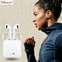 I7S TWS Bluetooth Headset Wireless Earphones Portable Handsfree Stereo Headphons Earphone Bluetooth For Apple IPhone Android