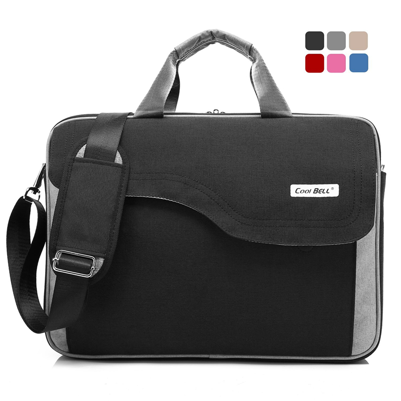15 Inch Nylon Laptop Bag Women Men Notebook Bag Shoulder Messenger Computer Sleeve Handbag for Macbook Lenovo Dell Laptop Case