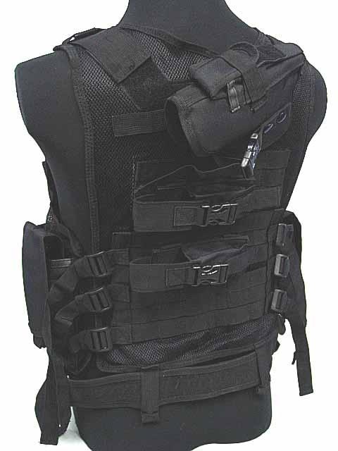 Deluxe s[prts vest Airsoft Tactical Hunting Combat Mesh Vest BK игровые бутсы nike бутсы nike mercurial superfly v df fg 831940 801