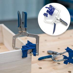Image 1 - 90 grad Rechtwinklig Ecke Klemme Holzbearbeitung Spann Hand Tool Set 90 Grad Winkel Schreiner Klemme Rechts Winkel Halter