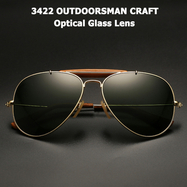 bf75588f767 JackJad Vintage 3422 OUTDOORSMAN CRAFT Style Sunglasses Quality Optical  Glass Lens Brand Design Sun Glasses Oculos