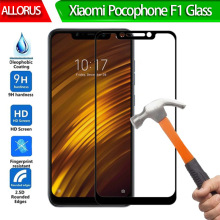 9H Tempered Glass Xiaomi Pocophone F1 Screen Protector For front Film Full Cover Pocofone Poco