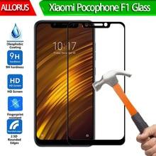 9H Tempered Glass Xiaomi Pocophone F1 Screen Protector For Xiaomi Pocophone F1 front Film Full Cover Pocofone F1 Poco F1 Glass нож fallkniven f1