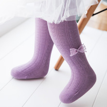 2016 newborn warm cotton tights pantyhose with love bowknot baby girls clothes tight children tights with