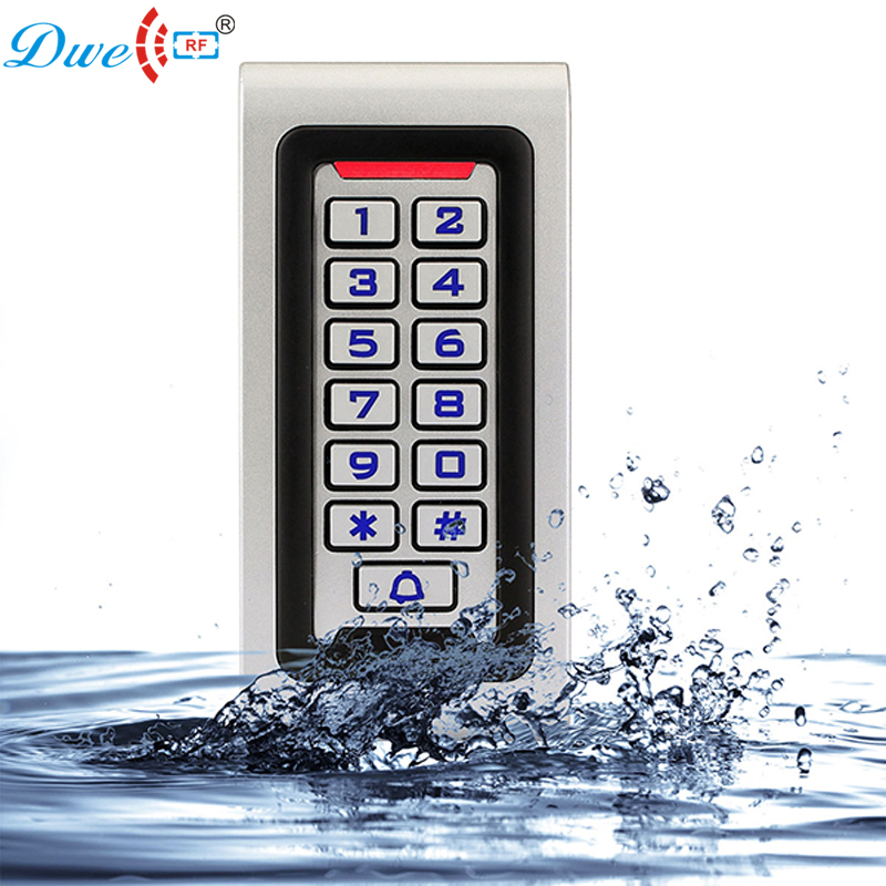 Free shipping rf id door keypad rfid keypad access control wiegand standalone wiegand 26 controller with 1 tag free lpsecurity waterproof standalone rfid keypad card door access controller wiegand 26 id reader input output high performance