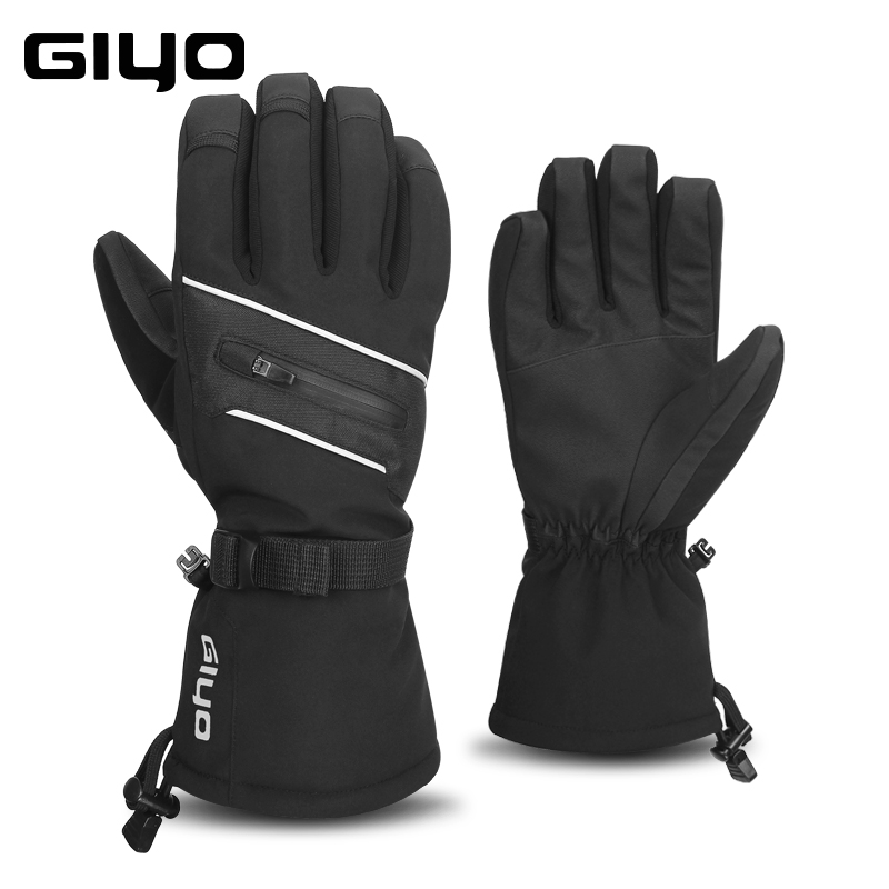 GIYO Waterproof Ski Gloves For Men Women Warm Fleece Snow Gloves Snowmobile Snowboard Gloves Mittens Winter Sport Thermal Gloves недорго, оригинальная цена