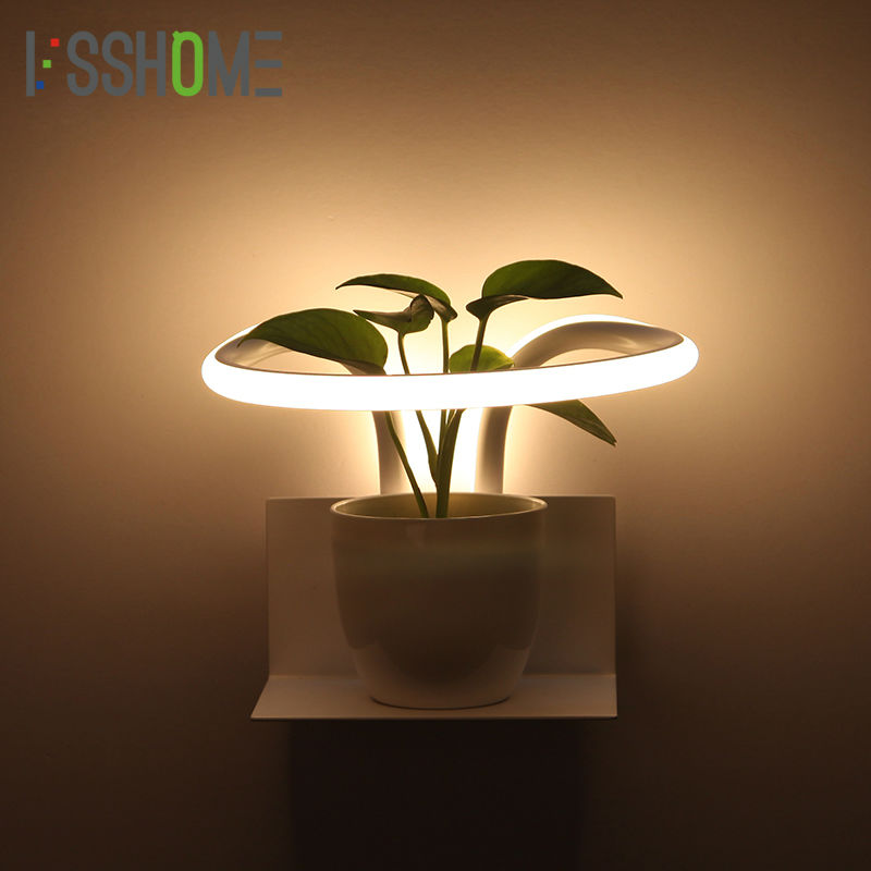 VSSHOME LED Wall Lights 13W Modern Bedroom Beside Wall Lamp Indoor Living Room Foyer Creative