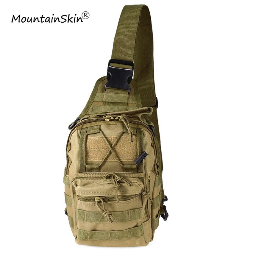 Mountainskin Heißer Verkauf Männer Frauen Flap Tasche Military Tactical Rucksack Unisex Mode Camouflage Durable Einstellbare Marke LA765