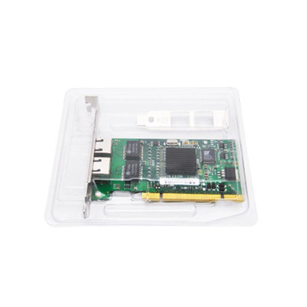 Dual RJ45 PCI-E Gigabit Ethernet LAN Network Card Adapter For Intel 8492MT/82546 NEW2019