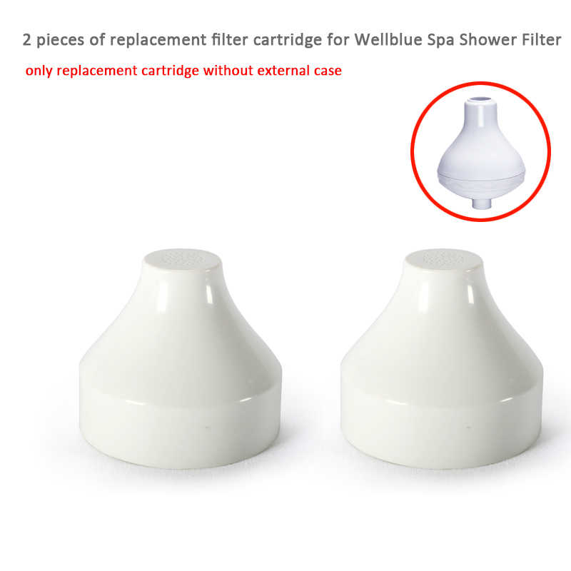 2 шт. сменного фильтра картридж для Wellblue спа душевой фильтр