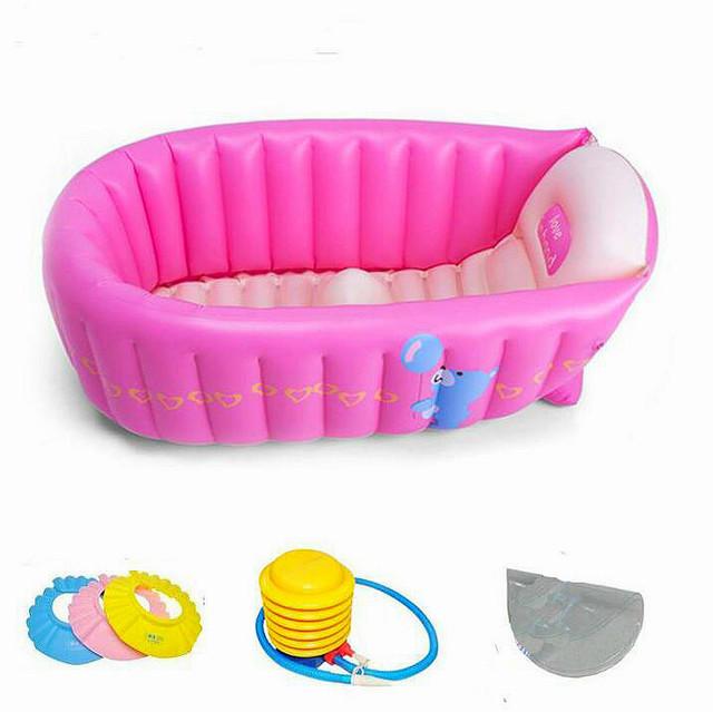 Verão bebê piscina crianças portátil banheira inflável 0 - 3 anos de idade do bebê banheira criança espessamento dobrável piscina inflável