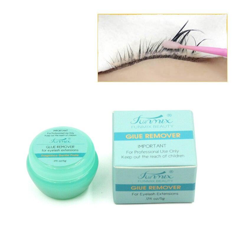 NEW Funmix 5g  Zero Stimulation False Lash Glue Gel Remover Colle Faux Cil Removal Eyelash Extension Glue TSLM2