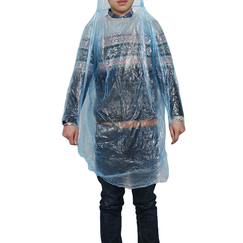 Disposable raincoat poncho adult waterproof suit fishing for Fishing rain gear reviews
