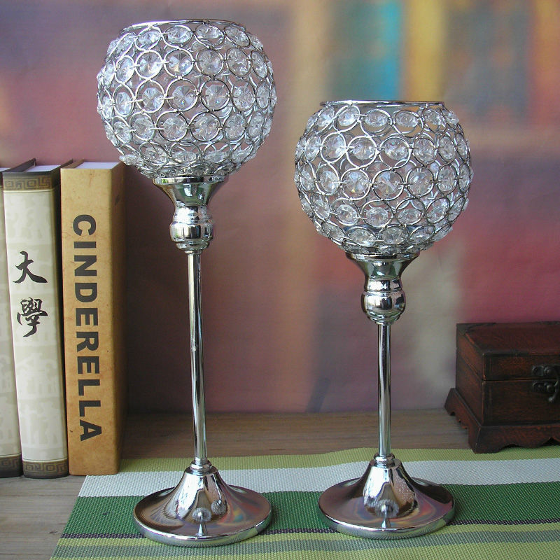 Aliexpress buy h cm modern crystal ball votive