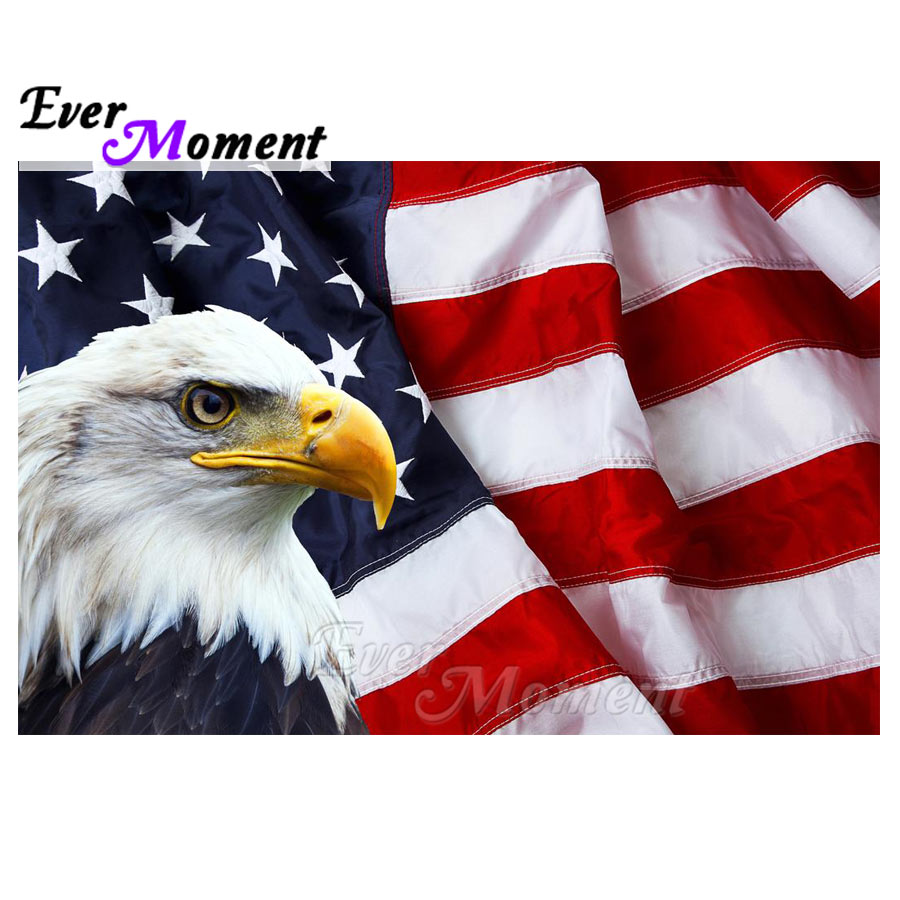 Ever Moment Diamond Painting Cross Stitch 5D DIY Picture Of Rhinestone Decoration For Home Diamond Embroidery Eagle S2F1734Ever Moment Diamond Painting Cross Stitch 5D DIY Picture Of Rhinestone Decoration For Home Diamond Embroidery Eagle S2F1734