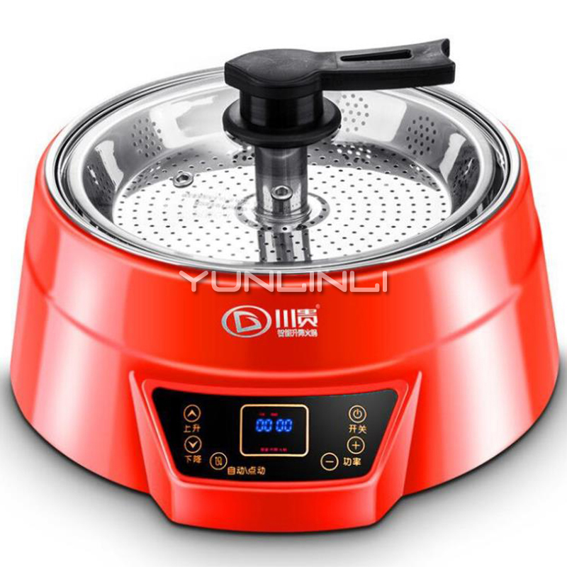 5L Electric Hot Pot Machine Household Stainless Steel Steam Furnace Multifunctional Electric Cooking Pot ZGF-G2202 traditional carbon burning charcoal hot pot thickened hot pot furnace boiler stainless steel hot pot furnace for 6 9 people