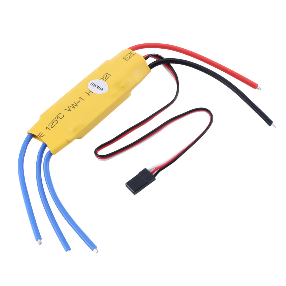 RC Helicopter 40A ESC Brushless Motor Speed Controller RC Quadcopter Drone Accessory Part dual mode drive brushless motor speed controller esc