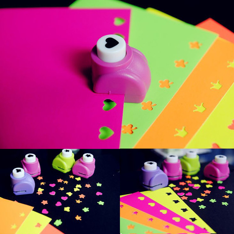 Paper Stickers Colorful Card Making Embossed Paper Handmade Material Scrapbooking Photo Album Decoration DIY