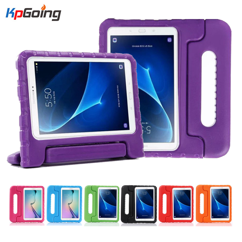 Shockproof EVA Foam Kids Case Cover For Samsung Galaxy Tab A A6 10.1 2016 T580 <font><b>T585</b></font> T580N Case Funda Tablet Stand Skin Shell image