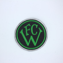 Embroidered chapter patch custom double-sided pattern