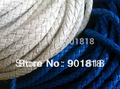 5 meters/bag 7mm 6-strand PU cuero trenzado del cordón de cuero trenzado cable para DIY pulsera, cadena de mascotas, pretina F806