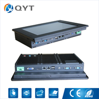 Industrial Computer With CPU Inter N2600 1 6GHz Touch Screen 12 Inch HDMI 2 RS232