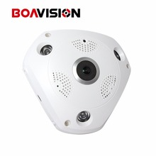 1.3MP 3D VR Cam WIFI IP Camera 960P Fisheye Lens HD Panorama WI-FI Camera IR Night Vision CCTV Security Camera BOAVISION