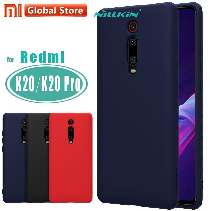 Nillkin płynnego silikonu obudowa do Xiaomi czerwony mi K20/K20 Pro/mi 9 T/mi 9 T Pro miękkie żel gumowe cienkie Slim ochronna futerał na telefonJednostronne etui   -