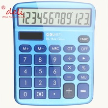 New Brand Luxury Office Electronic Calculator High Quality Solar Calculdora 1522a