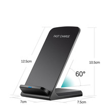 Kafan Universal Qi Fast Wireless Charger For iPhone X 10 8 Plus 8 Charger USB 10W Power Charging For Samsung Galaxy S8 S9 Note 8 цены