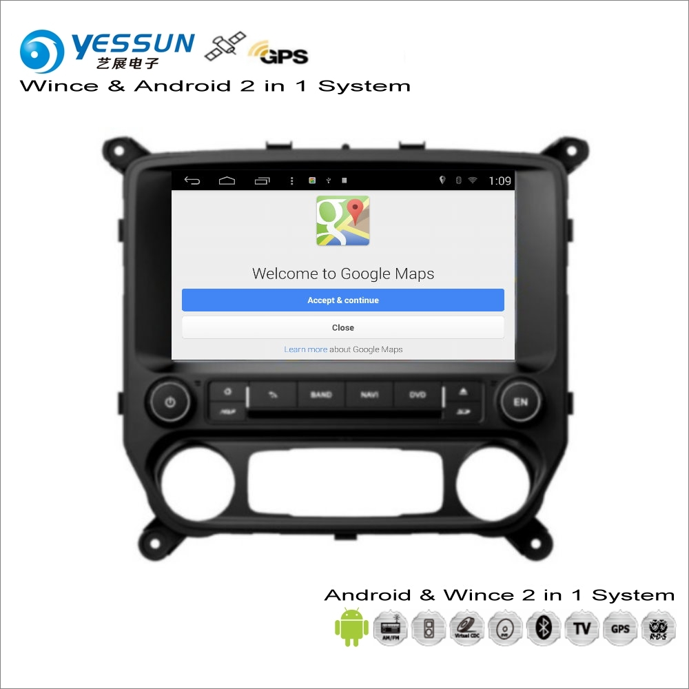 US $354.05 27% OFF|YESSUN For Chevrolet Silverado 2014~2017 Car Android on