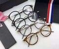 Prescrição Armações de óculos Homens Mulheres Moda Óculos de leitura de Computador Óptico Quadros TB807 Com Caixa Original oculos de grau