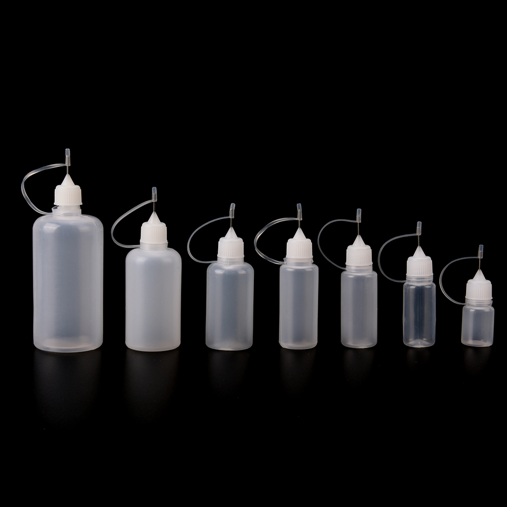 New 5/10/15/20/30/50/100ml PE Practical Plastic Needle Bottle Cigar Travel Dropper Juice Eye Liquid Container Solvent Oils