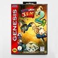 16-битный игровой картридж Sega MD с розничной коробкой-игровая карта Earthworm Jim 2 II для системы Megadrive Genesis