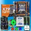คอมพิวเตอร์ DIY HUANAN ZHI deluxe X79 LGA2011 เมนบอร์ด 1TB SATA HDD GTX1050Ti 4G CPU Xeon E5 1650 C2 cooler RAM 16G (2 * * * * * * * 8G)