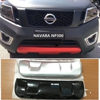 CITYCAR AUTO FRONT BUMPER PROTITVE FRAME BODY KITS ACCESSORIES FIT FOR NISSAN NAVARA NP300 2015 2018 CAR STYLE