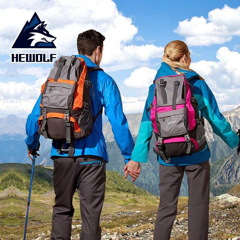 Hewolf 32L hommes femmes en plein air sac à dos étanche escalade randonnée Camping multifonction alpinisme sac à dos Sport vélo sacs