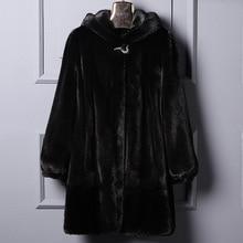 Hangat Mantel jaket Berkerudung