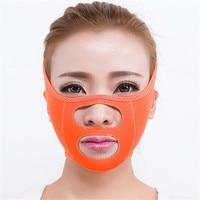 Lianth rutschfeste Atmungs V-Gesicht Abnehmen Massage Fatburner Gewichtsverlust Gürtel Töten Doppelkinn Maske Verband schönheit Werkzeug T230