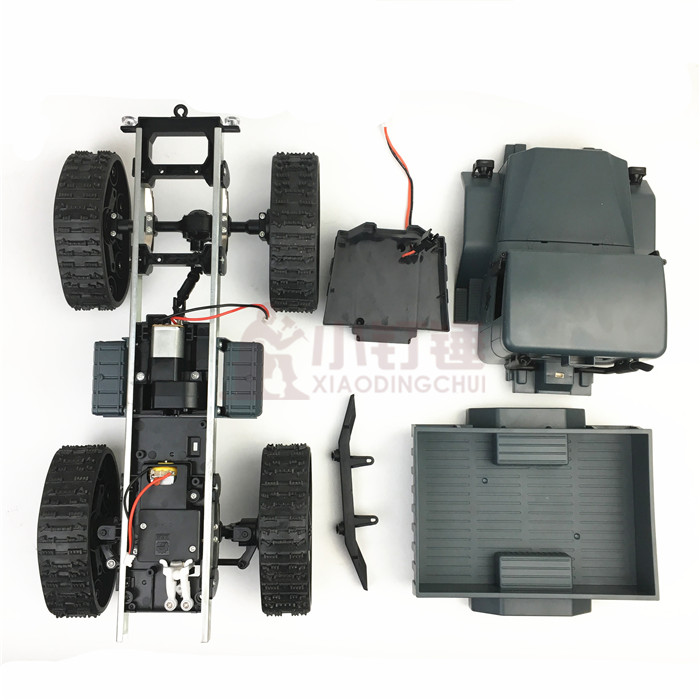 Резиновый трек колеса робота шасси грузовика четыре колеса скалолазания DIY модифицированный автомобильный комплект