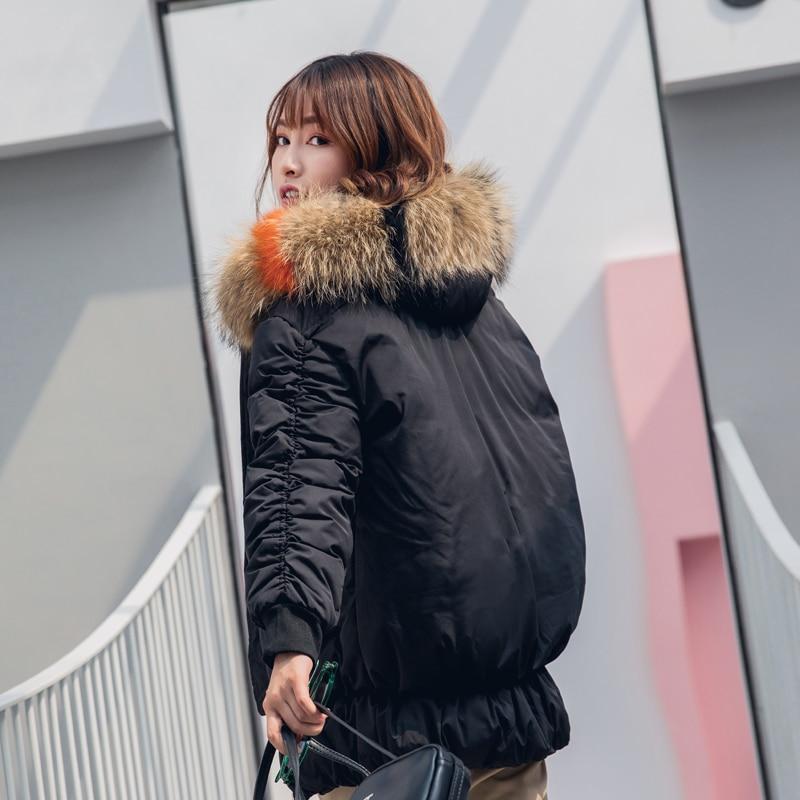 2019 Grand Manteaux Femmes Manteau Capuchon Jaqueta Fourrure Court Rembourré Col D'hiver Arrivée À Femme Coton Nouvelle Beige Feminina Mode De Veste noir Chaud OzI4nnZq
