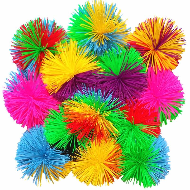 Betrouwbaar Nieuwe Rainbow Gemengde Squishy Bal Zintuiglijke Fidget Speelgoed Voor Autisme Beroepsmatige Stress Relief Kids Funny Anti-stress Speelgoed Speciale Behoeften Aromatisch Karakter En Aangename Smaak
