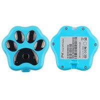 Tri-modo de Pet Tracker GPS por satélite de posicionamiento rastreador perro gato ratero RF-V32 perdido con cargador inalámbrico Con caja