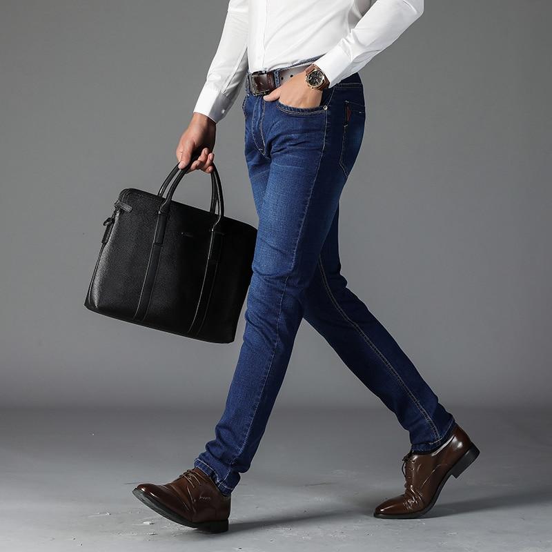 New Autumn Winter Men's Brand Jeans Men's Jeans