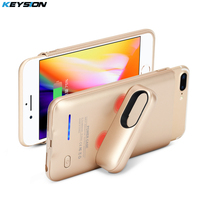 KEYSION Portable Charging Case For Iphone 8 7 6 6s Plus 3000 4200mAh Battery Power Bank
